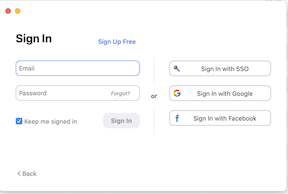 zoom client sign in with sso